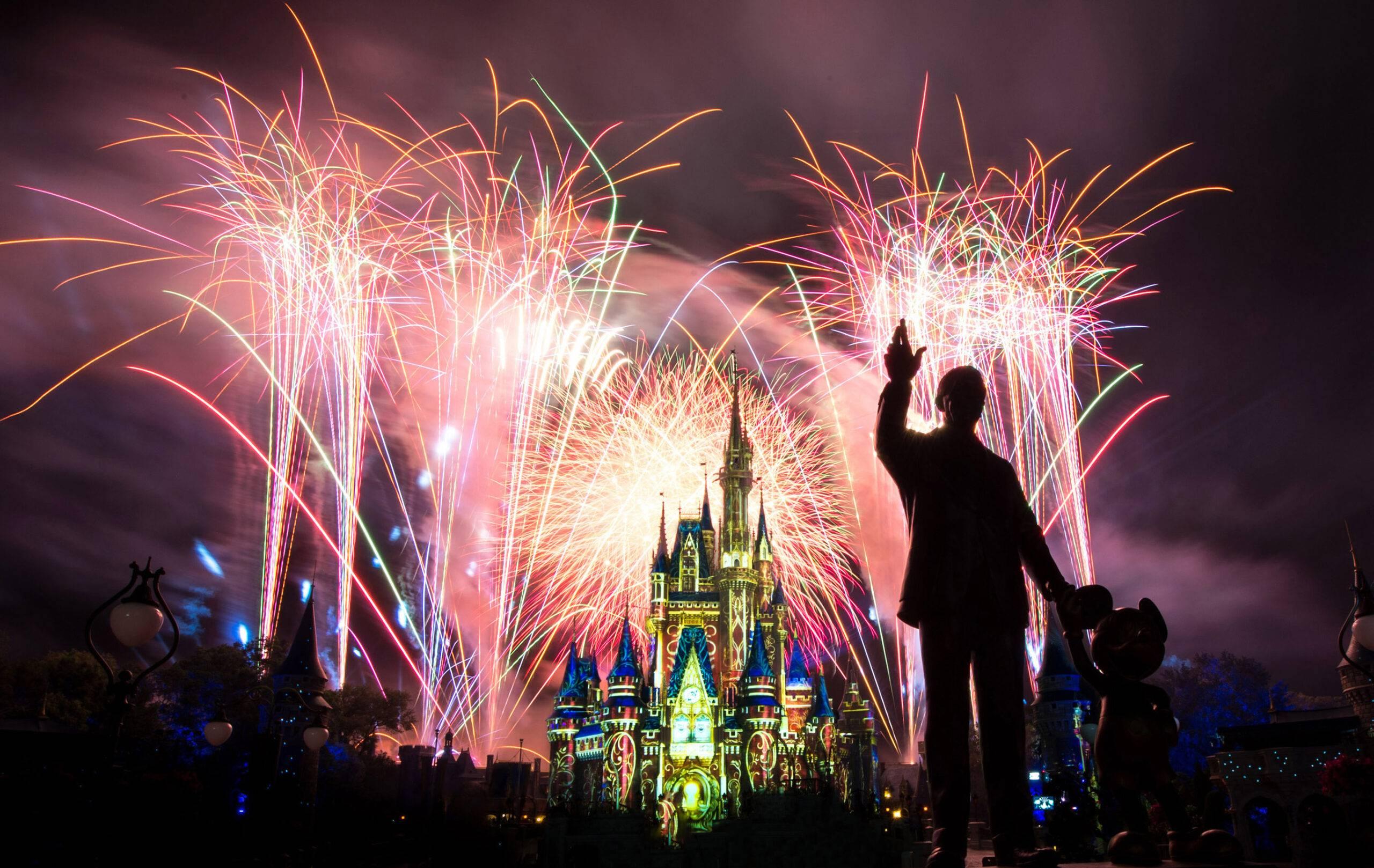 Fogos de artifício retornam ao parques Magic Kingdom, EPCOT e Disneyland