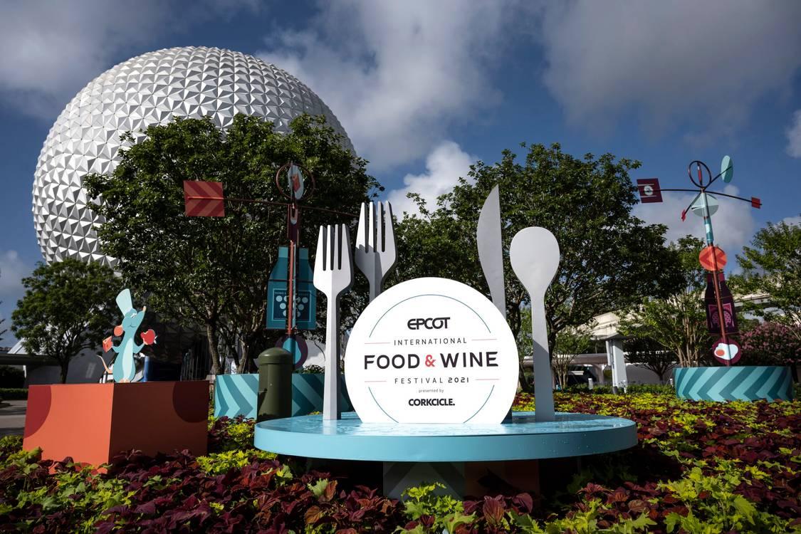 """Confira as imagens oficiais do """"EPCOT International Food & Wine Festival 2021"""""""