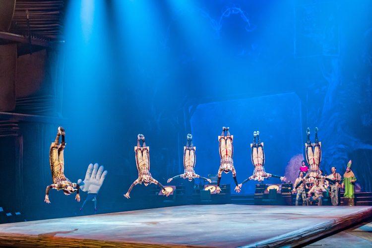 Disney retoma ensaios de show com Cirque du Solei