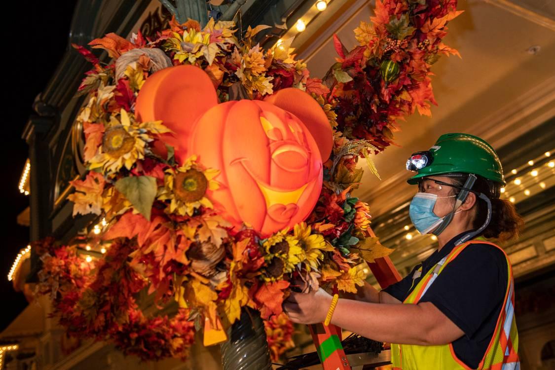 Imagens: Macic Kingdom está pronto para o Halloween