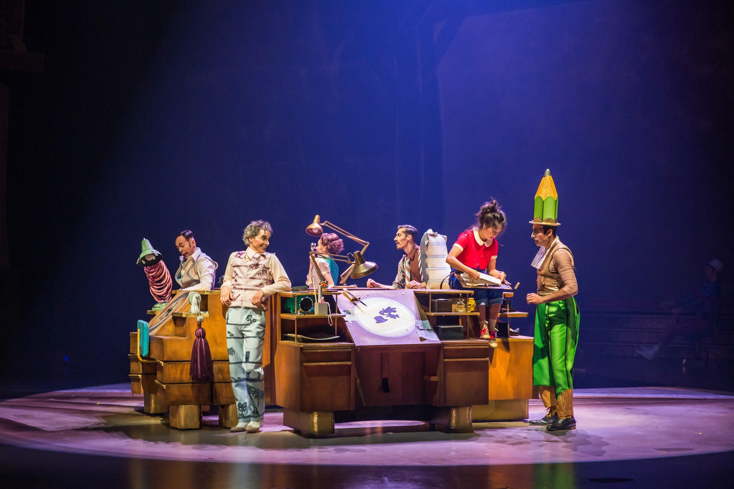 """Série do Cirque du Soleil mostra os bastidores de """"Drawn to Life"""""""